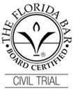 Civil Trail Board Certified Badge - Jeffrey B. Tutan