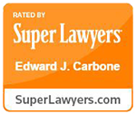 Super Lawyers Badge - Edward J. Carbone