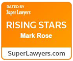 Super Lawyers Badge - Mark J Rose