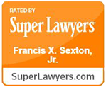 Super Lawyers Badge - Francis X Sexton Jr
