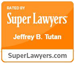 Super Lawyers Badge - Jeffrey B Tutan